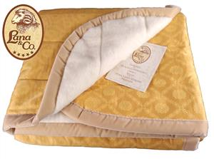 Coperta Copriletto SUN Lana Merinos Superwash. Francese