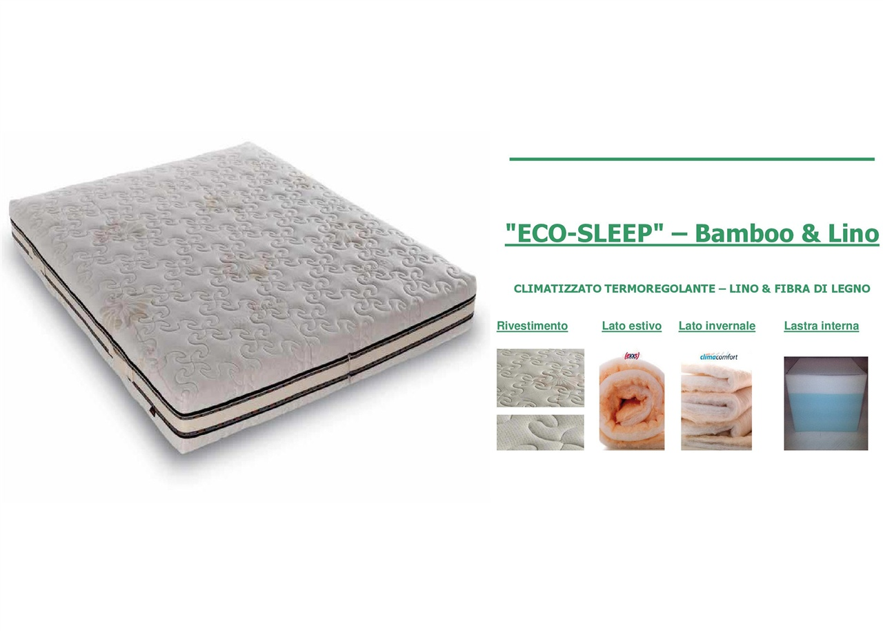 Materasso Eco-Sleep matrimoniale