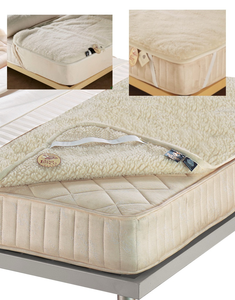 Double layer mattress topper PRIME Double bed size