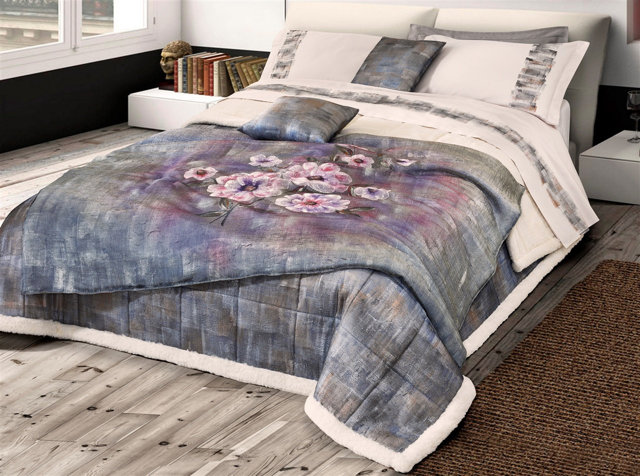 ART-WOOL. Blanket Bedspread Pure Merino Wool Double.