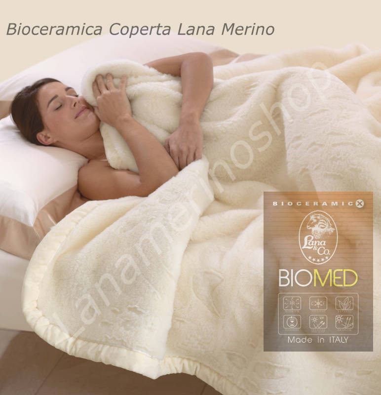 Bioceramic FIR Blanket. Size cm.230x260