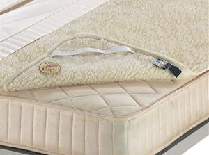 Intarsio. Double layer mattress topper  Double bed size