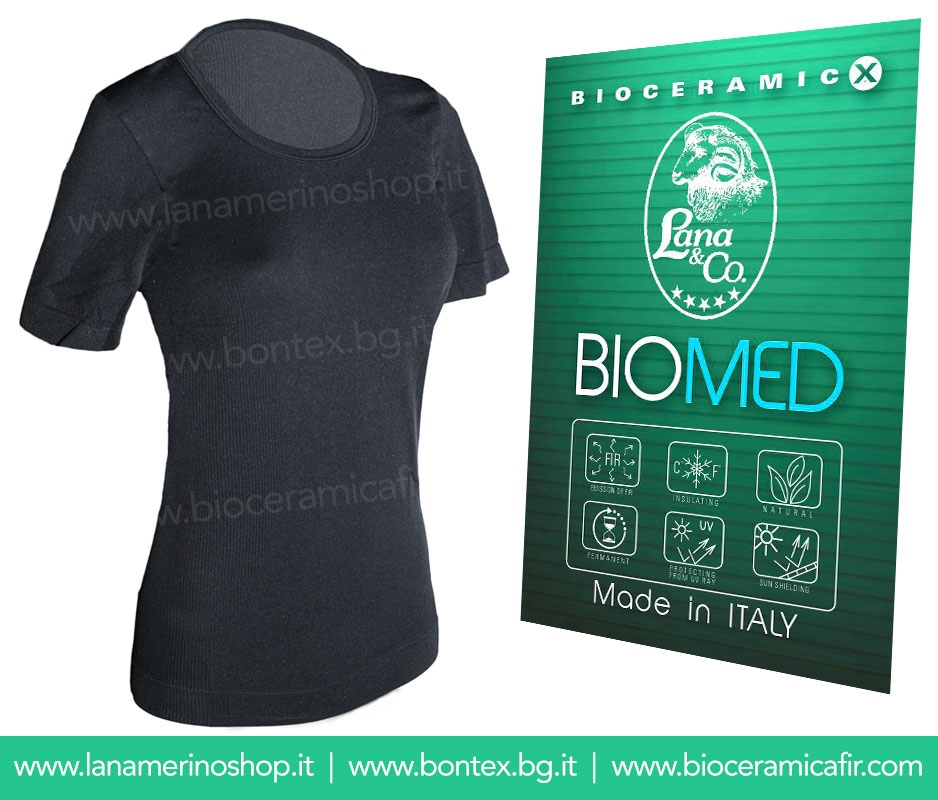 Bioceramica Fir T-shirt Donna - Dispositivo Medico CE