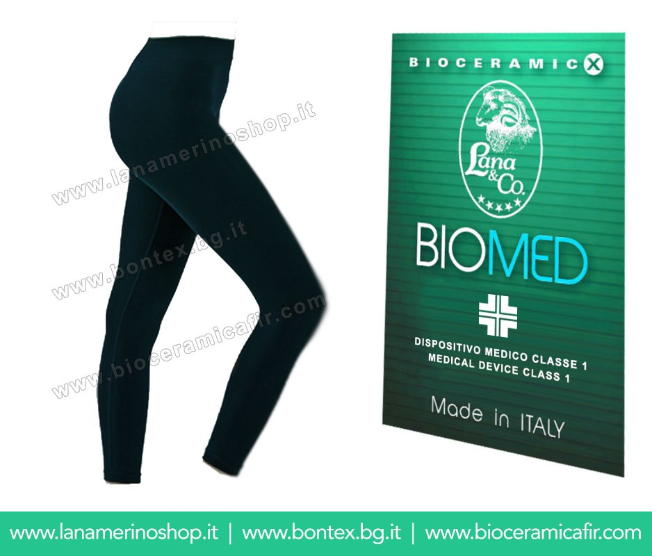 Bioceramica Fir Leggings Donna - Dispositivo Medico CE
